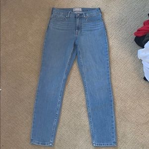High waisted ankle  jeans nwot